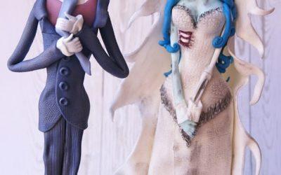 Corpse Bride :) czyli gnijąca Panna moda weselnie!