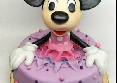 myszka minnie tort