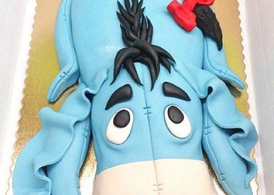 tort dla dziecka osiołek