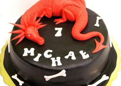 tort dla dziecka smok