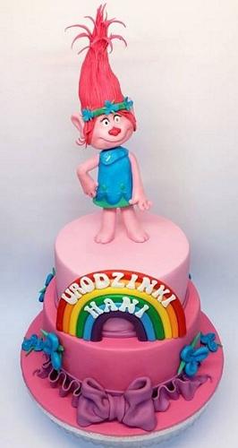 tort dla dziecka trolle