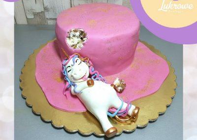 Tort dla dziecka z jednorożcem