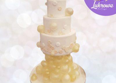 Bąbelkowy tort
