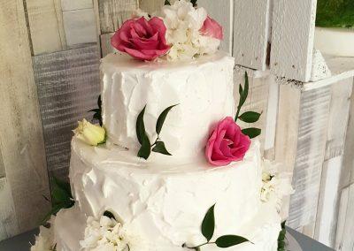 Naturalny toer weselny - żywe kwiaty