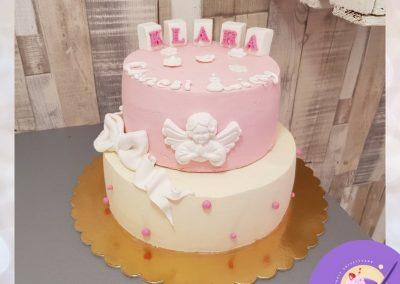 Tort bez masy cukrowej . Na chcrzest